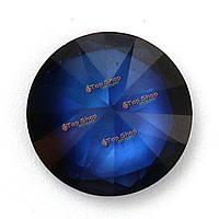 10мм синий сапфир камень круглый без подогрева драгоценных камней DIY свободные ювелирные изделия