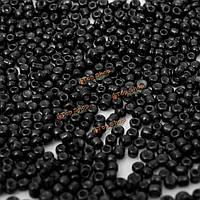 1000шт 2мм стеклянные круглые бусины свободно разделительные DIY изготовление ювелирных изделий