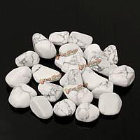 Камень натуральный бирюзовый белый для аквариума 50г
