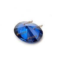 8x6мм овальные темно-синий драгоценный камень поделок дизайн блестящие ювелирные изделия изготовления аксессуаров