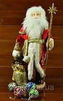 Дед Мороз новогоднее украшение под елку 50 см