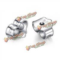 10шт S925 серьги стоппер шпилька поддерживает женщин ювелирные изделия вспомогательного оборудования заключений