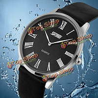 Вахта 9092 литер полоса ультра-тонкий циферблат водонепроницаемые кварцевые часы