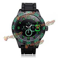В6 v0222 супер скорость большая 3 набора черных мужчин наручные часы