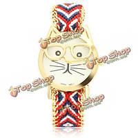 Часы наручные детские Mr. Cat