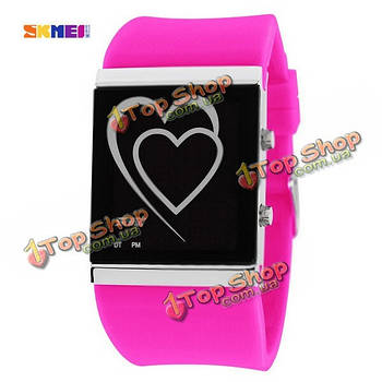 SKMEI 1004 LED Цифровой водонепроницаемый студент моды для женщин наручные часы