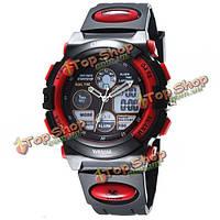 OSHEN ad1501 аналоговый LED цифровой силиконовой лентой водонепроницаемый наручные часы