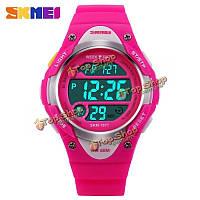SKMEI 1077 цифровой LED непромокаемые мальчиков девочки дети мода спортивные часы
