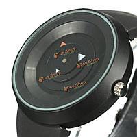 Мода краткое кремниевых аналогового кварца диапазона любовника пары спортивные часы
