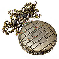 Панк-кошмар перед Рождеством кварцевые карманные часы с цепочкой