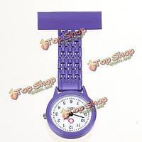 Медсестра брошь pin зажим из нержавеющей стали кварцевые карманные часы