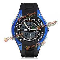 Часы мужские наручные кварцевые спортивные водонепроницаемые ALIKE  Е7111 LED
