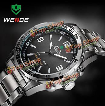 Часы мужские наручные кварцевые WEIDE WH1009 LED