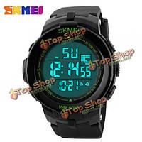 SKMEI 1127 цифровой LED резинкой прокат снаряжения мужские наручные часы