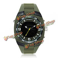 Boamigo мужской стиль милитари спорт LED аналоговые цифровые наручные часы