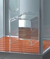 Акриловый стульчик для паровых гидробоксов и душевых кабин Devit (190099)
