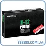 Радиальный пластырь R 12 термо 70 х 120 мм 1 слой корда Россвик Rossvik
