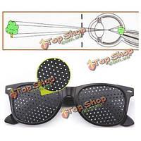 Очки с дырочками перфорационные для улучшения зрения