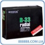 Радиальный пластырь R 33 термо 100 х 125 мм 3 слоя корда Россвик Rossvik