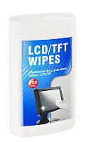 Влажные чистящие салфетки для мониторов LCD/TFT