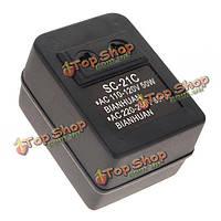 Преобразователь трансформатор напряжения 110V в 220V 50Вт 60Гц