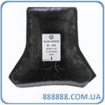 Радиальный пластырь R 201 термо 90 x 160 х 135 мм 2 слоя корда Россвик Rossvik