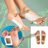 10шт Детокс пластыри для ног детоксикации патчи