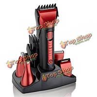 5в1 моющийся электробритва борода нос триммер бритва машинки для стрижки волос