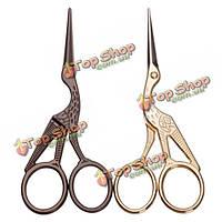 Золото бронза аист вышивка ножницы брови уха триммер волос