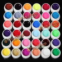 36 Цвета чистые цвета UV-гель для ногтей Extension