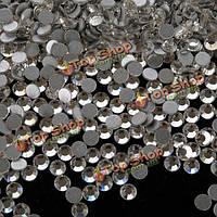 1440пк прозрачного хрусталя стразы для ногтей искусство советы украшения