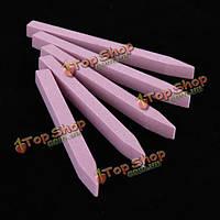 10шт ногтей шлифовка камня буфер файла педикюрный инструмент