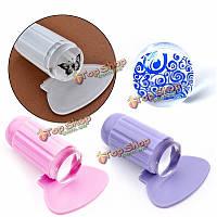 Стемпинг для ногтей стампер силиконовый
