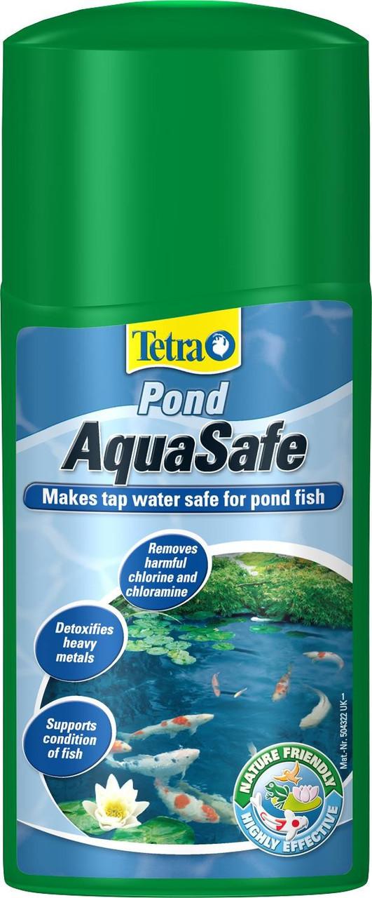 Tetra POND AquaSafe 1L - препарат для запуска пруда - Интернет-магазин «Моё дело» в Харькове
