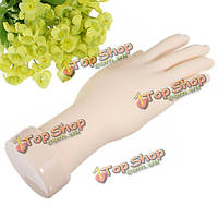 Практики искусства ногтя руки гибкие силиконовые протезы рук