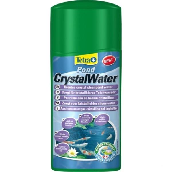 Tetra POND Crystal Water 500ml - препарат для быстрого очищения воды в пруду - Интернет-магазин «Моё дело» в Харькове