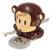 Cute обезьяна рук Нейл-арт советы гель лак дизайн маникюр сушилка для ухода