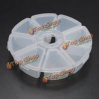 8 отделений пластиковая коробка для хранения