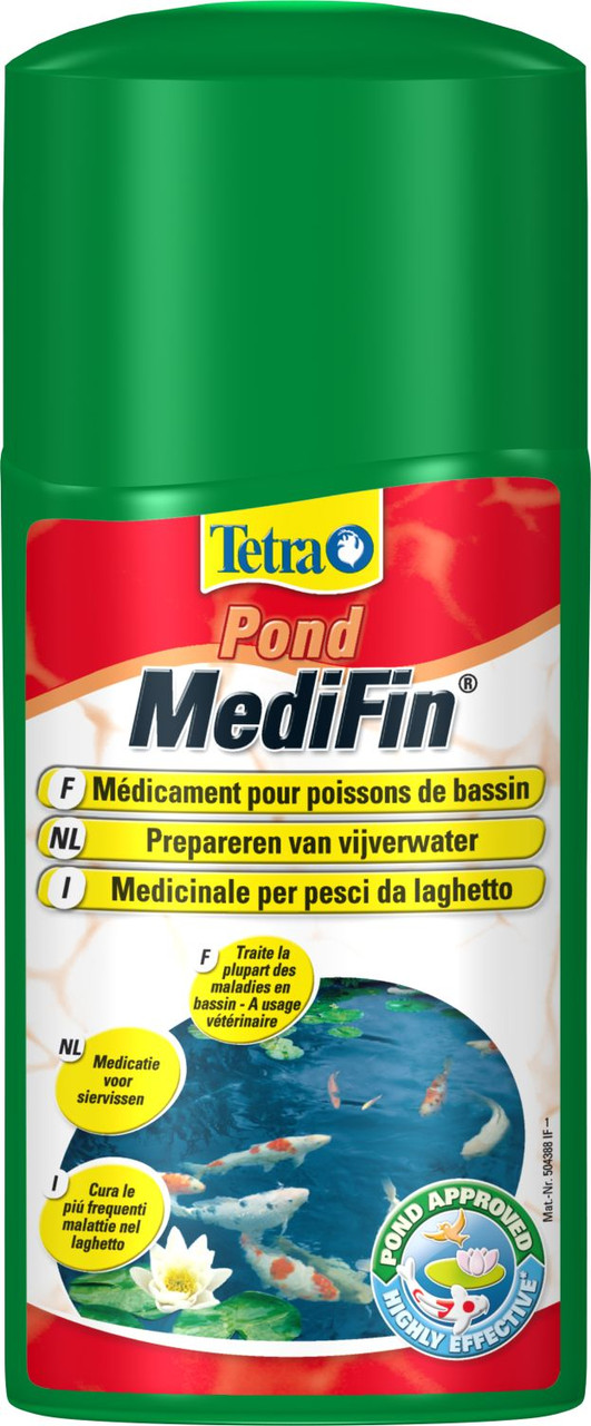 Tetra POND MediFin 250ml - универсальный лекарственный препарат для пруда (на 5000 л) - Интернет-магазин «Моё дело» в Харькове