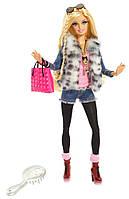 Barbie Модница Барби Меховой леопардовый жилет Style Leopard fur Jacket