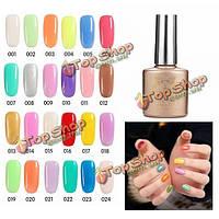 24 цветов света изменение цвета изменение замочите от UV-гель для ногтей лак