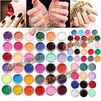 Гель лаки для ногтей глянцевые однотонные 24 цвета