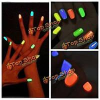 24 цвета магии флуоресцирует светящееся UV-гель ногтей лак впитать от меняют цвет ночи в ночное время