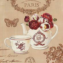 """Вышивка бисером «Идейка» (ВБ 1060) набор """"Завтрак в Париже"""", 30x30 см"""