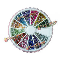 Набор дизайна ногтей 12 цветов Nail Art