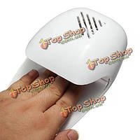Портативный белый лак для ногтей твердения воздушной сушки вентилятор сушилка для пальцев ног