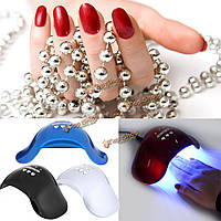 12w ногтей сушилка уф LED излечение лампа гель отверждения 3-скоростной инструмент автоматического таймера машины