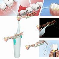 Яс портативный мини ирригатор для полости рта зубной нитью струя воды взять чистка зубов Flusher