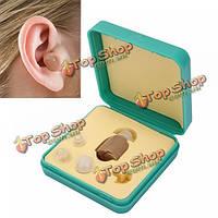 F-883 Mini в ухо слуха слуховой усилитель звука регулируемый тон улучшения речи