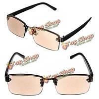 Коричневый кристалл дальнозоркостью усталость снимают очки для чтения очки прочности 1.0 1.5 2.0 2.5 3.0 3.5